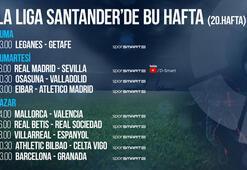 La Liga 20. haftada 9 maç naklen D-Smart ve D-Smart Go'da