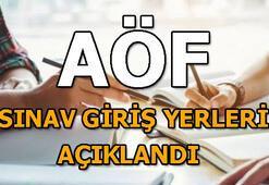 18-19 Ocak AÖF sınav giriş yerleri açıklandı AÖF sınav giriş belgesi sorgulama