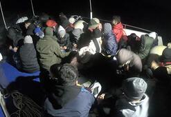 Çanakkalede 2 haftada 515 kaçak göçmen yakalandı