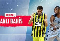 Fenerbahçe Beko-ASVEL maçı canlı bahisle Misli.comda