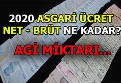 Asgari Ücret 2020 - AGİ 2020 kaç lira Şubat maaşlarına yansıyacak