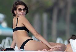 Kaia Gerber, Miami tatilinde