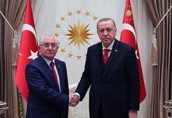Cumhurbaşkanı Erdoğan, YSK Başkanı Güveni kabul etti
