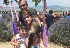 Ablasını ve eniştesini çocuklarını gözü önünde öldürmüştü... Yakalandı