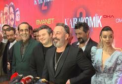 Karakomik Filmler 2nin galası Zorlu PSMde yapıldı