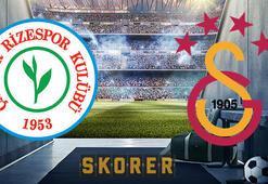 Çaykur Rizespor Galatasaray maçı ne zaman Saat kaçta, hangi kanalda