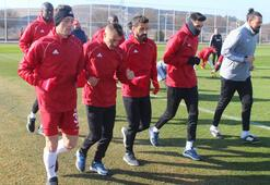 Lider Sivassporda Beşiktaş mesaisi başladı