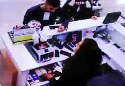 Evlilik programına talip olarak katılan şahsın hırsızlık anları kamerada