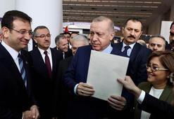 İmamoğlu, Cumhurbaşkanı Erdoğana 4 sayfalık mektup verdi