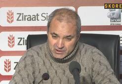 """Erkan Sözeri: """"Maçta iyi işler yapıp iyi futbol oynadık"""""""
