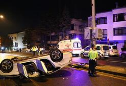 Ankarada trafik kazaları: 5 yaralı