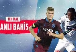 Trabzonspor-Denizlispor maçının canlı bahis heyecanı Misli.comda