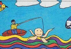 Çocuklar hayallerini çizdi