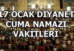 Diyanet Cuma namazı saatlerini açıkladı 17 Ocak İl il Cuma namazsı saatleri...