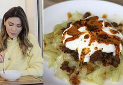 Mantı tadında lahana yemeği tarifi | Kıymalı lahana nasıl yapılır