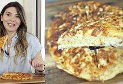 10 dakikada kahvaltılık börek tarifi | Patatesli tava böreği nasıl yapılır