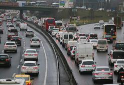 Son dakika İstanbulda trafik yoğunluğu