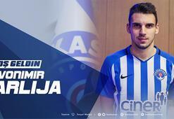 Transfer haberleri | Kasımpaşa, Zvonimir Sarlijayı kadrosuna kattı