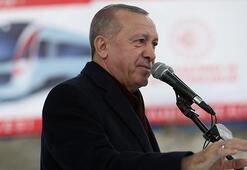 Cumhurbaşkanı Erdoğandan Gayrettepe-İstanbul Havalimanı Metro Projesi paylaşımı