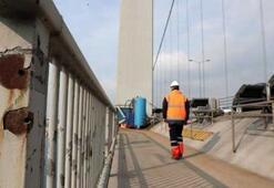 15 Temmuz Şehitler Köprüsü'nde hain darbe girişimi izleri