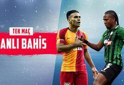 Galatasaray - Denizlispor maçı canlı bahis heyecanı Misli.comda