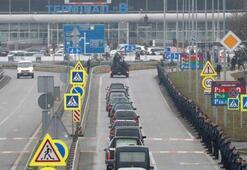 İranda düşürülen uçakta ölen Ukraynalıların naaşları ülkelerine getirildi