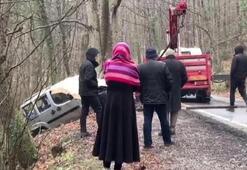 Belgrat Ormanında kaza