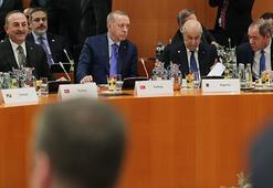 Son dakika | Erdoğan, Libya Zirvesinde