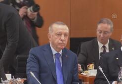 Berlindeki Libya Konferansı başladı