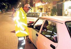 Lefkoşa ve İskele'de 153 sürücüye ceza