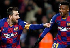 Barcelona, Granadayı Messi ile yıktı İsmail Köybaşı...