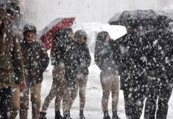 Dikkat: Kar geliyor Ankara - İstanbul - İzmir ve diğer illerin hava durumu