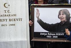 Rahşan Ecevitin Devlet Mezarlığına defnine ilişkin teklif TBMMye sunuldu