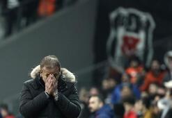 Beşiktaş, Avcı yönetiminde sıkıntılı