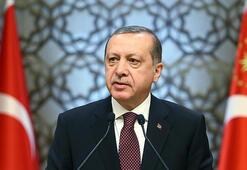 Cumhurbaşkanı Erdoğan şehit ailesine taziyelerini iletti