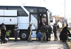 500 Suriyeli, Tel Abyada döndü