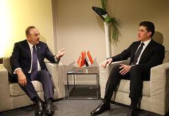 Bakan Çavuşoğlu, Barzani ile görüştü