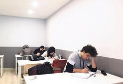 Sınava hazırlık tatilde de sürüyor