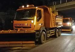 İstanbul kar yağışını tetikte bekliyor