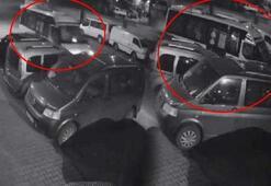 Uyuyakalan minibüs sürücüsü dehşet saçtı