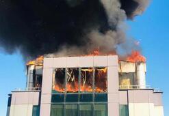 Antalyada korkutan yangın