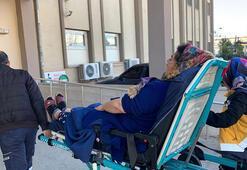 Adıyamanda sobadan zehirlenen 9 kişi tedaviye alındı
