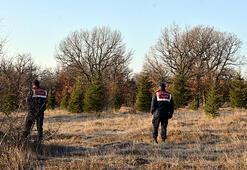 Bulgaristandan gelen planör ormana bıraktı 6 çanta...
