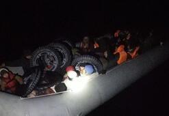 Çanakkalede 28 kaçak göçmen yakalandı