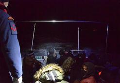 Balıkesirde 26 kaçak göçmen yakalandı