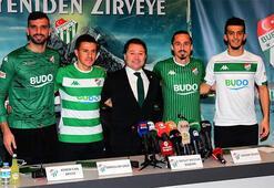 Transfer haberleri | Bursaspor 4 futbolcuyla sözleşme imzaladı