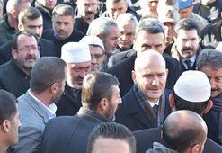 Bakan Soyludan Şeyh Abdulkerim Çevikin ailesine taziye ziyareti