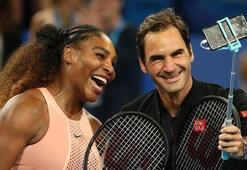 Serena Williams ve Federer, Avustralya Açık Tenis Turnuvasında 3. tura yükseldi