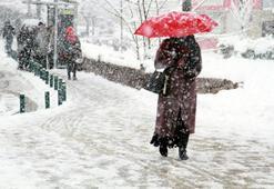 Kar yağışı için saat verildi İstanbul hava durumu - Ankara, İzmir hava durumu nasıl olacak