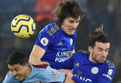 Çağlar Söyüncü oynadı, Leicester City farklı kazandı